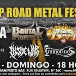 SP ROAD METAL FEST @Manifesto Bar 18/03/2018 – Domingo