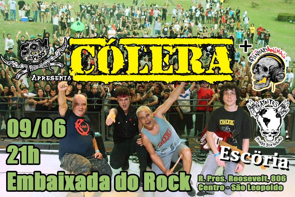 Na Embaixada do Rock
